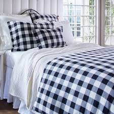 parker buffalo check duvet bedding by taylor linens american country
