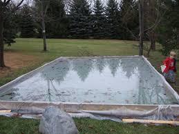 Backyard Ice Rink Tips Diy Backyard Ice Rink My Family Loves It