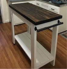 Farmhouse Style Kitchen Islands by Tall Kitchen Island Trolley Things I U0027ve Made Upcycled Or