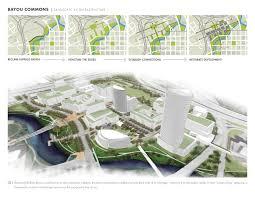 Urban Garden Houston Asla 2012 Student Awards Bayou Commons A New Urban District On