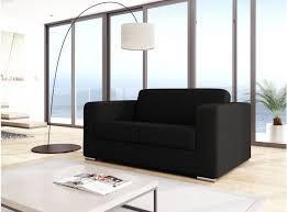 canap design 2 places canapé design 2 places en tissu gris foncé