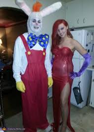 Halloween Costume Jessica Rabbit Framed Roger Rabbit Couple Costume