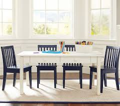 Toddler Table And Chairs Wood Carolina Craft Table U0026 4 Chairs Set Pottery Barn Kids