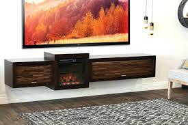 tv stand floating fireplace wall mount tv stand eco geo