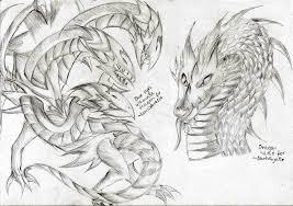 free dragon sketches 02 by lightenddragon on deviantart