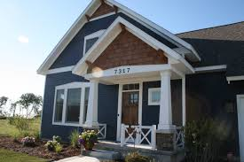 Craftsman Style Homes by Beach House Craftsman Style Porch Hardie Board Painted Sherwin