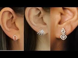 small diamond earrings creative new fashionable small diamond studs