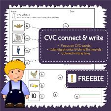 free download cvc word worksheets u2013 trace blend write