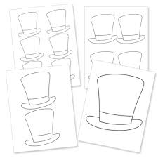 free printable magician hat printable treats forest