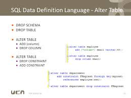 Postgresql Alter Table Add Column Fen Data Definition Create Table Alter Table Data