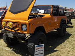 jeep commando custom orange jeep commando 2007 pa jeep show favorite jeepfan com