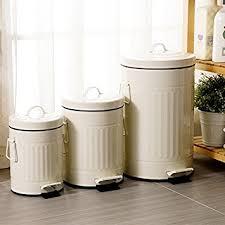 poubelle cuisine retro wuieayon poubelle européenne à l épaississement rétro accueil
