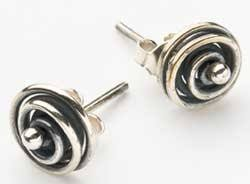 make your own earrings studs don t like dangles make spiral stud earrings the beading gem s
