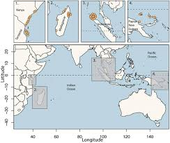 Map Of Coral Reefs Comanagement Of Coral Reef Social Ecological Systems Proceedings