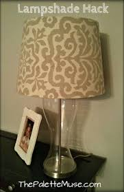 How To Make A Lamp Shade Chandelier Lamp Shade Hack The Palette Muse