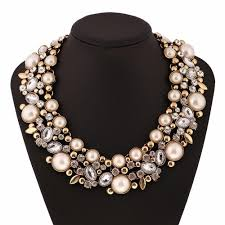 pearl necklace wedding jewellery images Wedding jewelry bridal jewelry pearl necklace champagne pearl jpg