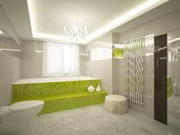 badezimmer 3d grünes badezimmer 3d stockbild bild 18140311