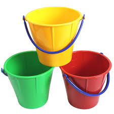 large sand pail 2 5 liter assorted colors haba usa