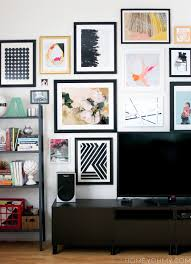 how to plan and hang a gallery wall homey oh my