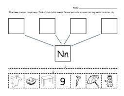 52 best letter n images on pinterest preschool activities