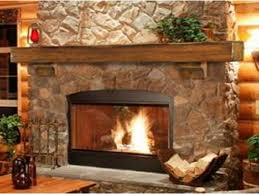 rustic stone fireplaces stone fireplace ideas modern concept