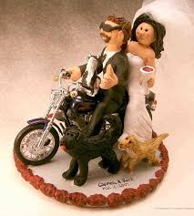 harley cake topper davidson wedding cake topper