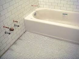 Bathroom Floor Tile by Glass And Stone Mosaic Bathroom Floor Tile Colorful Mosaic