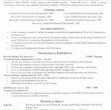 information technology professional resume it resume cover letter
