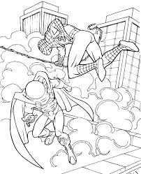 spiderman coloring pages 14 print color free