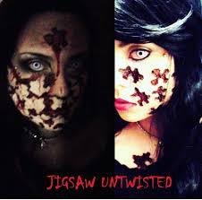 halloween jigsaw puzzle jigsaw makeup tutorial untwisted halloween series 2012 youtube