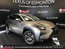lexus nx demo for sale used 2016 lexus nx 200t 4 door sport utility in edmonton ab ld13824a