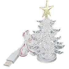 Walgreens Christmas Decorations Amazon Com Usb Powered Miniature Christmas Tree Multicolor Leds