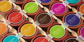 jar cakes löffle mich cakes in jars the dieline packaging branding