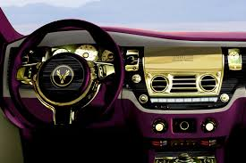 rolls royce gold and white one off 24k gold rolls royce ghost purple by fenice milano poses a