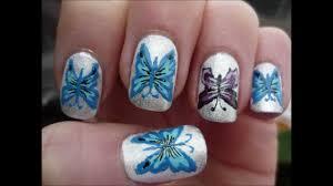 cute u0026 unique butterfly nail art tutorial youtube