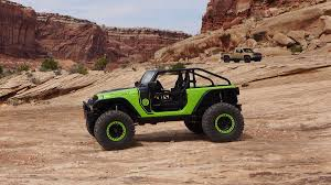 moab jeep safari 2017 2016 easter jeep safari concept trucks test drives with photos