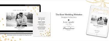 knot wedding free designer wedding websites