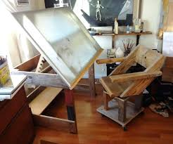 Wooden Drafting Table Albert Nestler Drafting Table Drawing Table Interior Design
