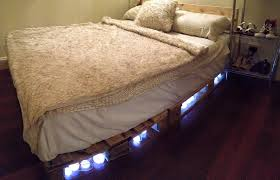 How To Make A King Size Platform Bed With Pallets by How To Make A Pallet Bed