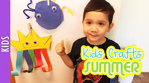 kids crafts for summer day and night the290ss youtube