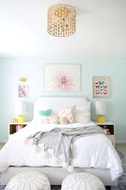 wall ideas blue and yellow little room mint bedroom