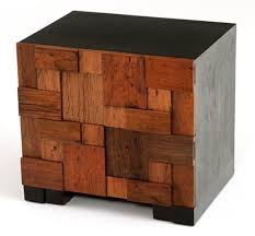 furniture accessories small wood nightstand rustic wooden bed