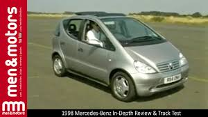 reviews of mercedes a class 1998 mercedes a class in depth review track test