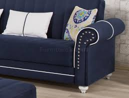 Microfiber Futon Couch Dark Blue Sofas With Epic Microfiber Futon Sofa Sleeper Bed Blue