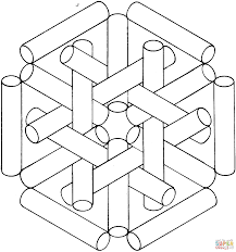 optical illusions coloring pages ziho coloring
