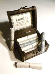 gift idea leadership scroll box motivational gift