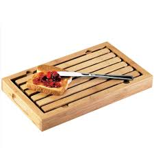 cal mil 823 bamboo crumb catcher cutting board 13 3 4