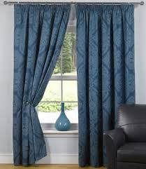 Navy And White Drapes Navy Blue Curtains Blue Curtains And Drapes