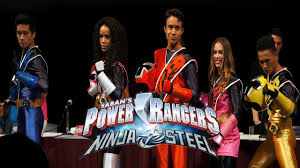 power rangers ninja steel cast reveal power morphicon 2016