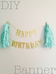 banner design ideas diy diy birthday banner popular home design amazing simple at